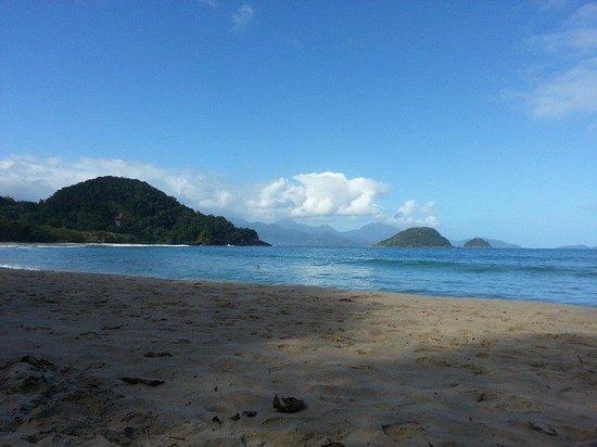 Felix Beach: Canto esquerdo da Praia