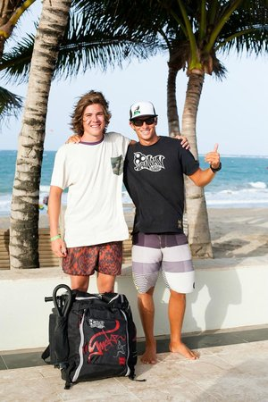 PDC Kiteboarding School and Water Sports Center: Aidan & Dylan