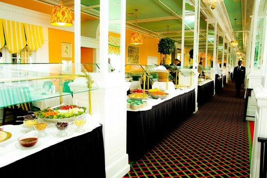Grand Hotel Mackinac Island Lunch Buffet 2018 World S Best Hotels