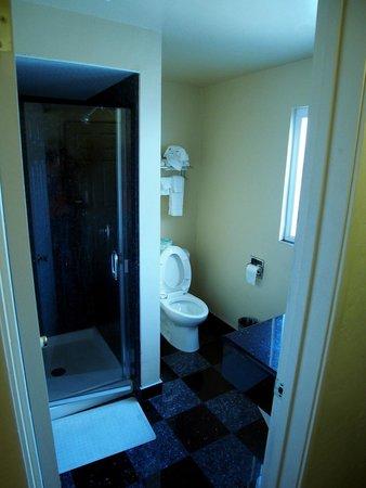 Super 8 by Wyndham Berkeley: Bathroom