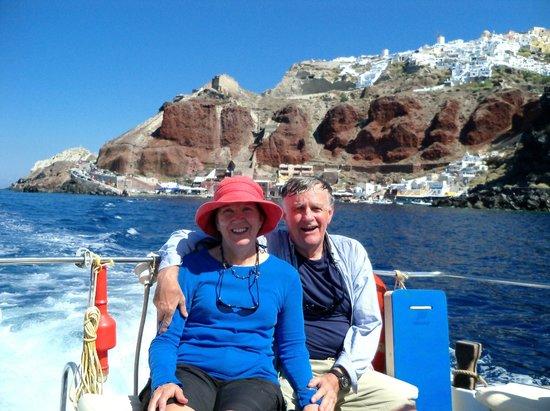 Santorini Sea Trips Anemos: Sailing from Oia