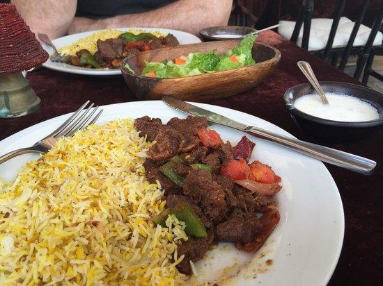 Local House Restaurant: Camel curry