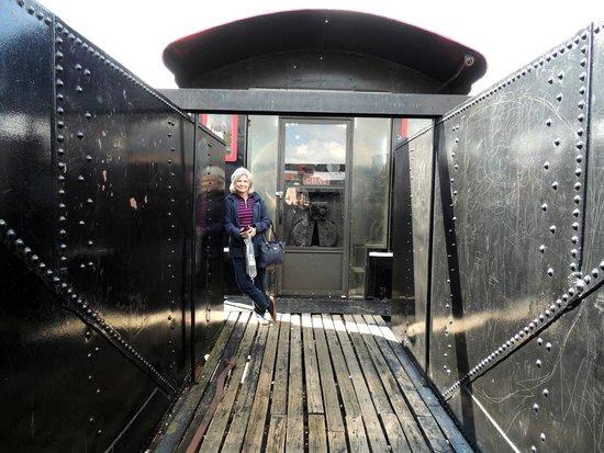 Cookeville Depot Museum : coal car