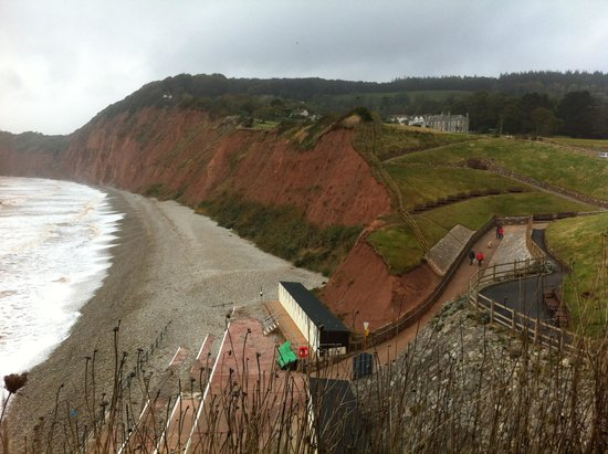 Sidmouth, UK : Beautiful beach