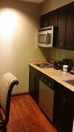 Homewood Suites by Hilton Lafayette-Airport, LA: Kitchen in my room