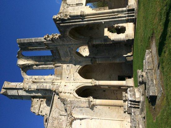 Abbaye de Chaalis: Ruine de l'abbaye