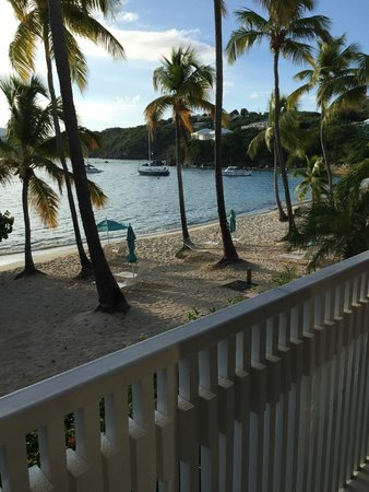 Secret Harbour Beach Resort : View from our room