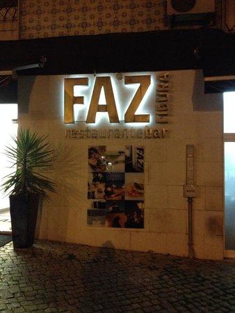 Restaurante O Faz Figura : indgang