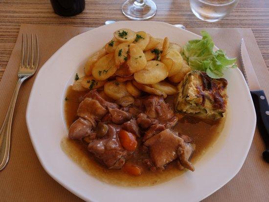Restaurant de l'Abbaye : Duck leg stew.