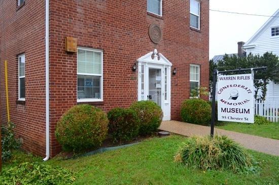 Front Royal, فيرجينيا: warren Rifles Confederate Museum