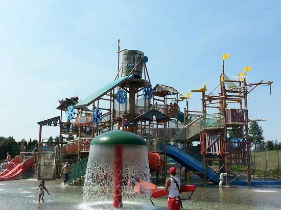 Silverwood Theme Park Polliwog Boulder Beach