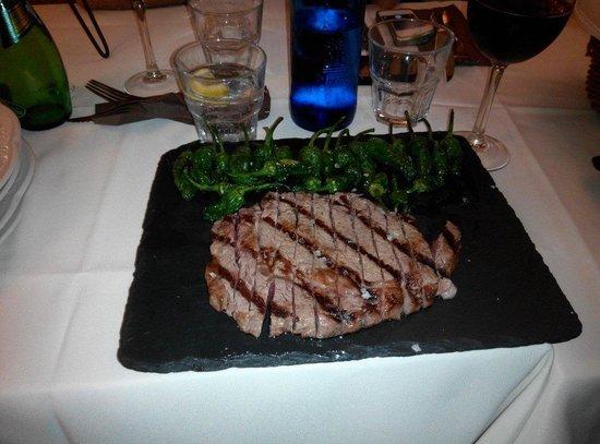Rossini: Nebraska steak