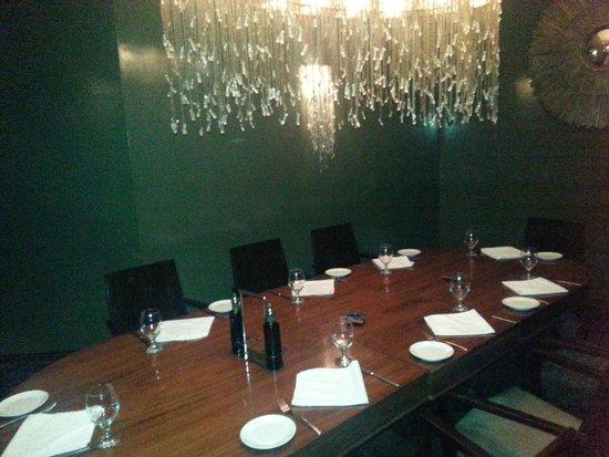 La Bodega: Elegant private dining