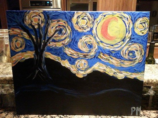 The Paint Mixer: Starry Night