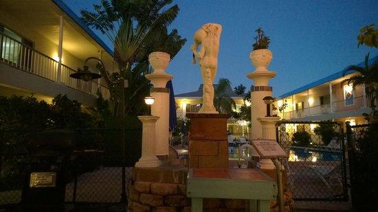 Island House Resort : Pool area