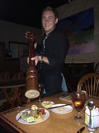 Aqua Grill: What a pepper mill!