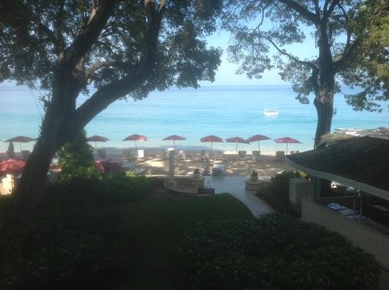 Sandy Lane Hotel: nice view