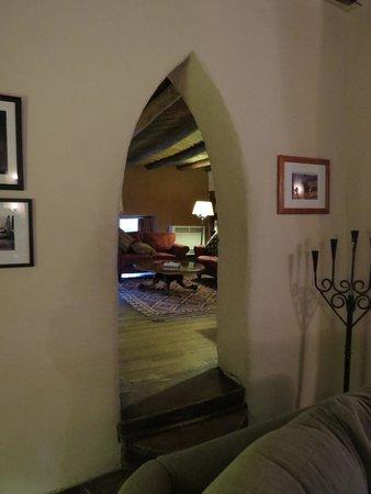 Mabel Dodge Luhan House: dentro la sala principale