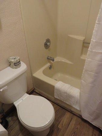 Mabel Dodge Luhan House: bagno doccia