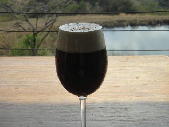 Karkloof Safari Spa : perfect Irish Coffee