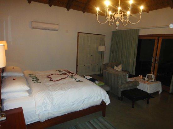 Karkloof Safari Spa : the room
