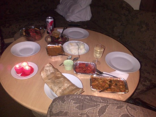 Ayr India: Evening 1 of takeaway! Xx