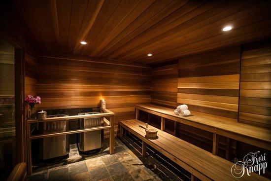 Regent Hotel: Sauna