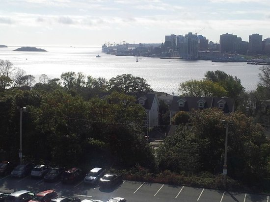 Doubletree by Hilton Halifax Dartmouth: View of Harbour from 7th floor