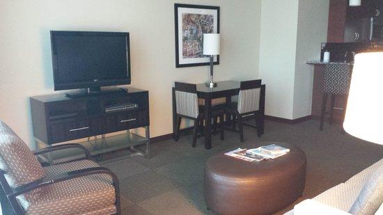 Twelve Centennial Park: Living Room