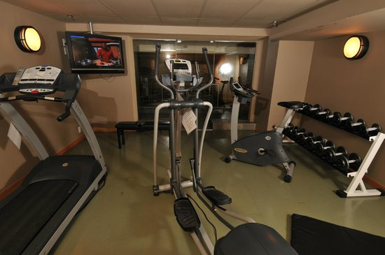 Banff Caribou Lodge & Spa: Fitness Room