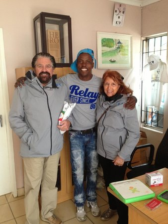 Felleng Day Tours: Kliptown director with Rich and Betty