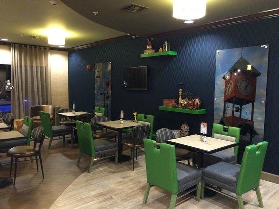 Holiday Inn Express: Breakfast room.....