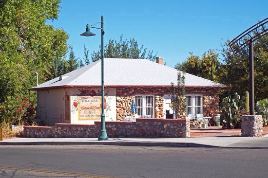 Wild Rose of Historic Old Town Tea House : This building was a jail at one time.