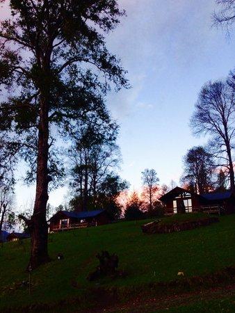 Mirador los Volcanes Lodge & Boutique : Las cabañas