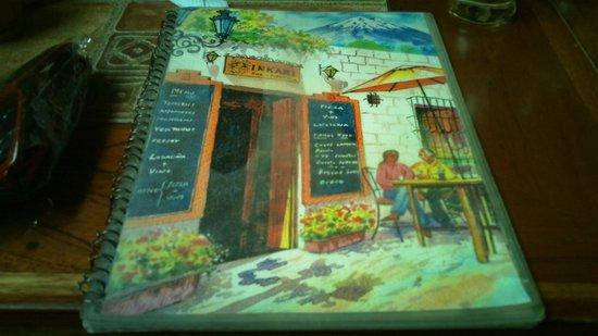 Inkari Pub Pizzeria : carta