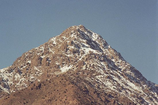 Guesthouse Dar Adous : a nice peak we could see from our room