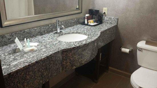 Comfort Suites: Nice Modern Bathroom
