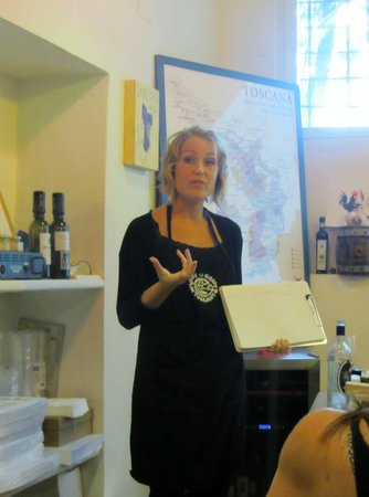 Tuscan Wine School - Siena : Our Instructor