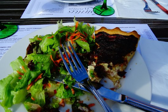 Koifhus (Old Custom House): Quiche Lorraine, almost too late
