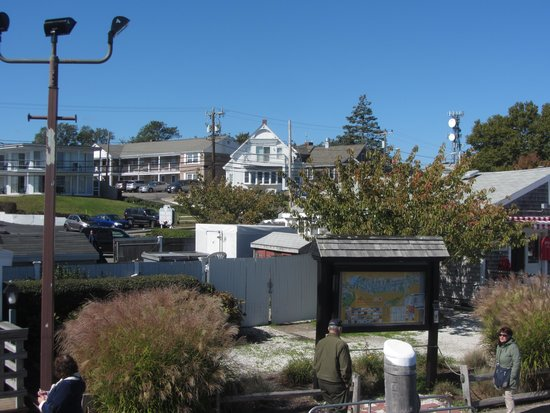 Cape Cod Harbor House Inn : Hotel from the dock
