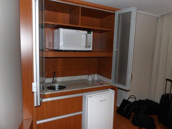 Armario minicozinha  Foto de Hotel Boulevard, Londrina  TripAdvisor # Armario De Cozinha Curitiba