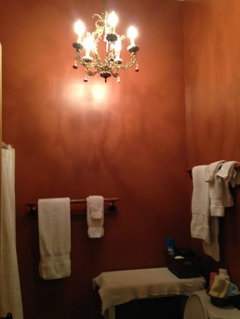 Chimes Bed and Breakfast: bathroom