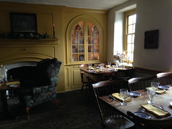 Dobbin House Tavern Upstairs Dining Room