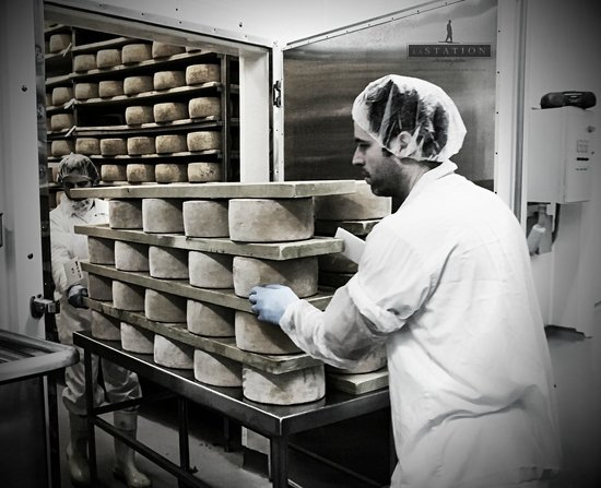 Fromagerie La Station: affinage