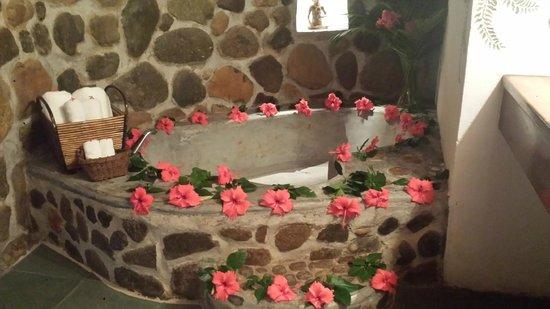 Las Cascadas Lodge: Bejuco Cabin Tub