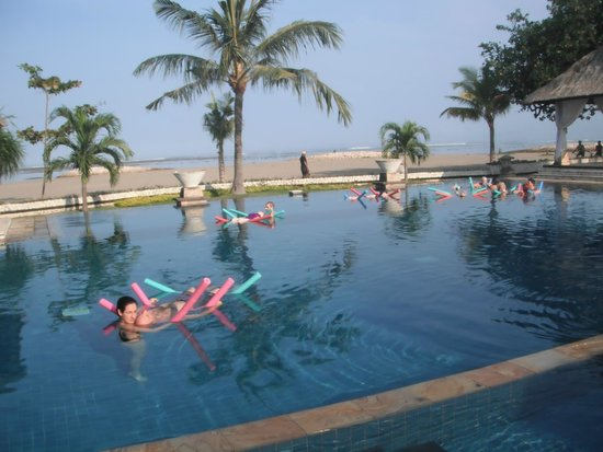 The Patra Bali Resort & Villas: what a view from the pool