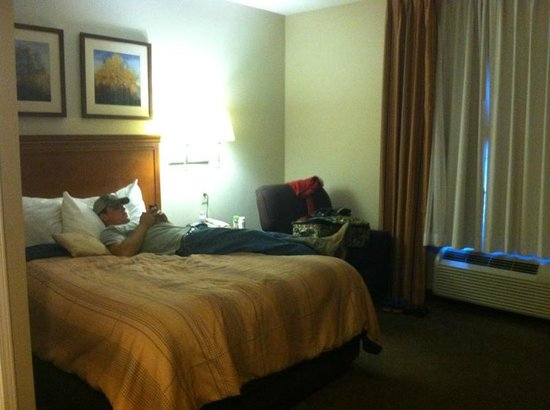 Candlewood Suites Hot Springs: nice bed..