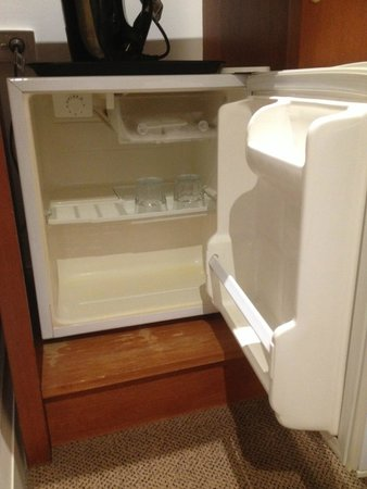 The Great Southern Hotel: Bar fridge
