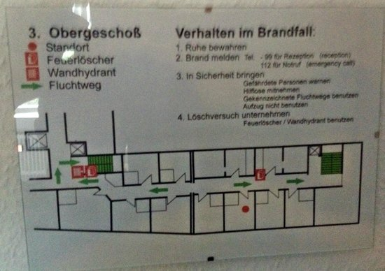 Businesshotel & Appartements Stuttgart-Vaihingen: Floor Plan Third Floor