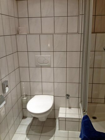 Businesshotel & Appartements Stuttgart-Vaihingen: Toilet